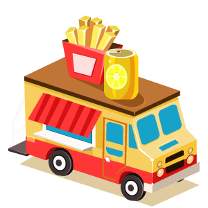 Food Truck Stickers messages sticker-5