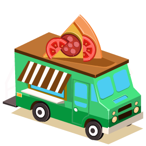 Food Truck Stickers messages sticker-10