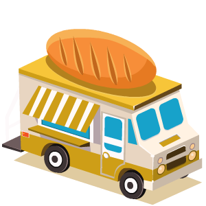Food Truck Stickers messages sticker-1