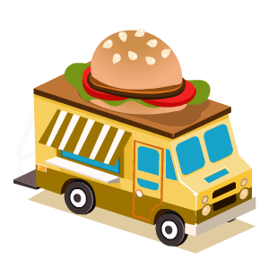 Food Truck Stickers messages sticker-7
