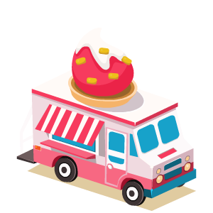 Food Truck Stickers messages sticker-3