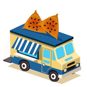 Food Truck Stickers messages sticker-2