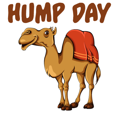 Hump Day Stickers messages sticker-2