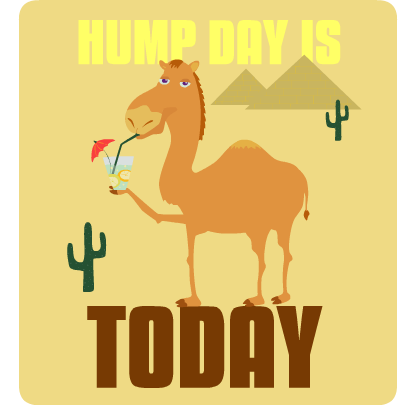 Hump Day Stickers messages sticker-0