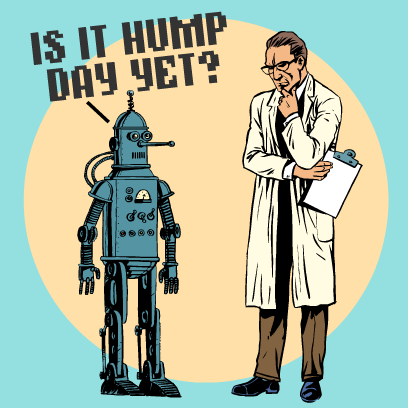 Hump Day Stickers messages sticker-9
