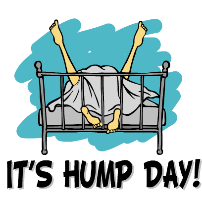 Hump Day Stickers messages sticker-8