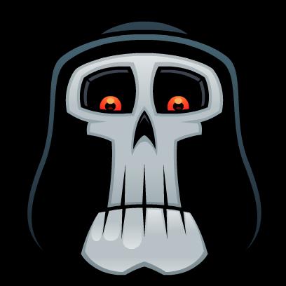 Skull Stickers messages sticker-4
