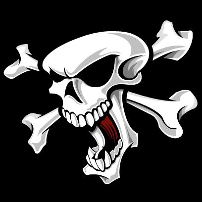 Skull Stickers messages sticker-1