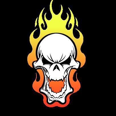 Skull Stickers messages sticker-6