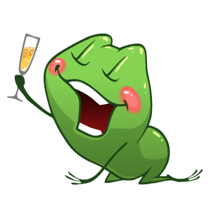 Frog Stickers messages sticker-6