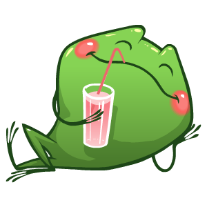 Frog Stickers messages sticker-11