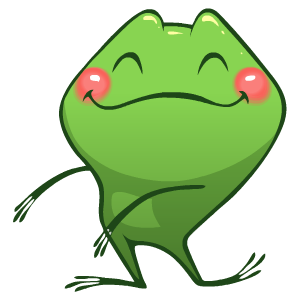 Frog Stickers messages sticker-8