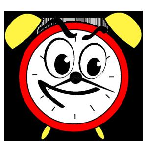 Waterfall • Clock messages sticker-3