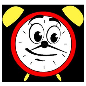 Waterfall • Clock messages sticker-0