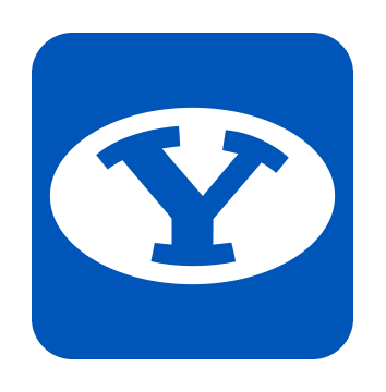 Rep the Y - BYU emoji keyboard messages sticker-9