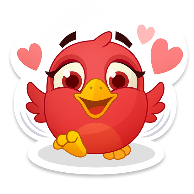 Bubble Birds V - Shooter messages sticker-9