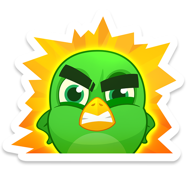 Bubble Birds V - Shooter messages sticker-0