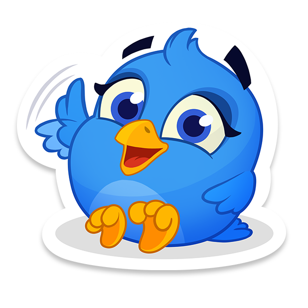 Bubble Birds V - Shooter messages sticker-5