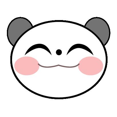 Panda Sticker messages sticker-7