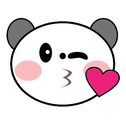 Panda Sticker messages sticker-6