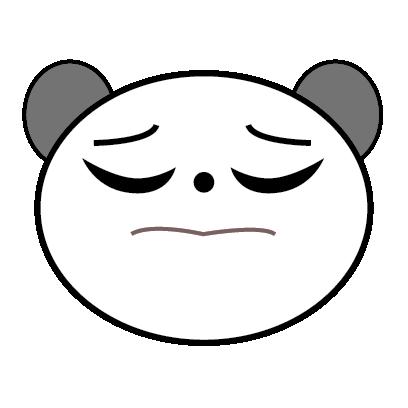 Panda Sticker messages sticker-8
