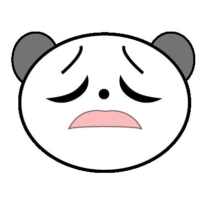 Panda Sticker messages sticker-9