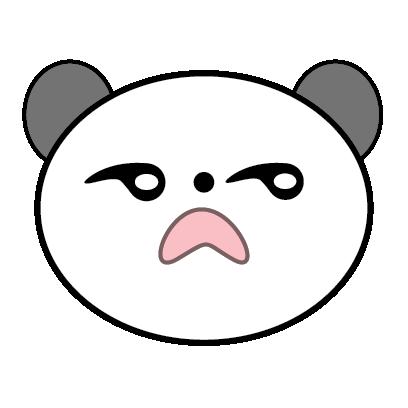 Panda Sticker messages sticker-3