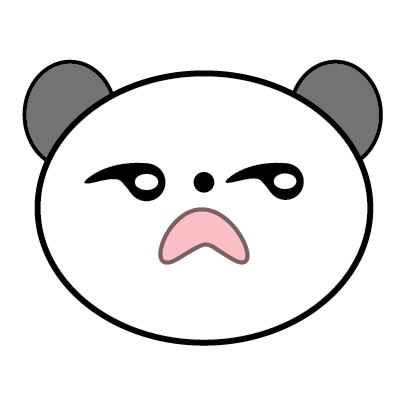 Panda Sticker messages sticker-3