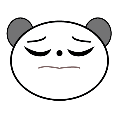 Panda Sticker messages sticker-8