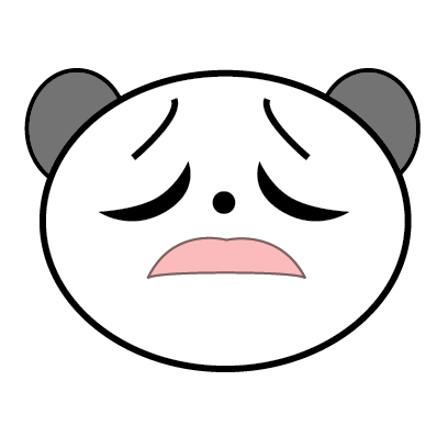 Panda Sticker messages sticker-9