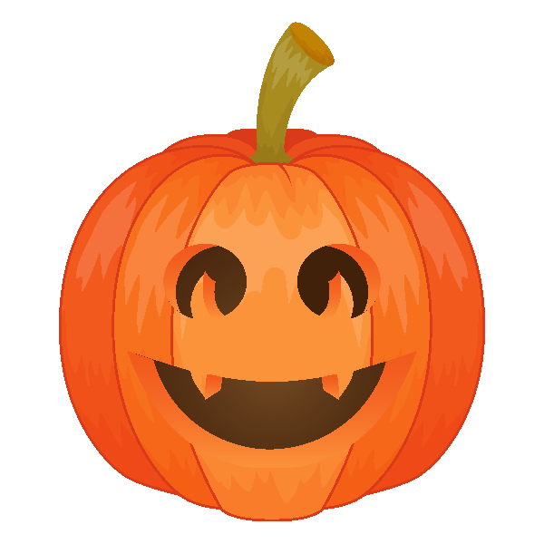 Pumpkin Emoji Keyboard messages sticker-5