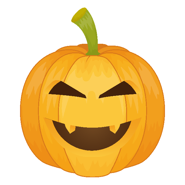 Pumpkin Emoji Keyboard messages sticker-6