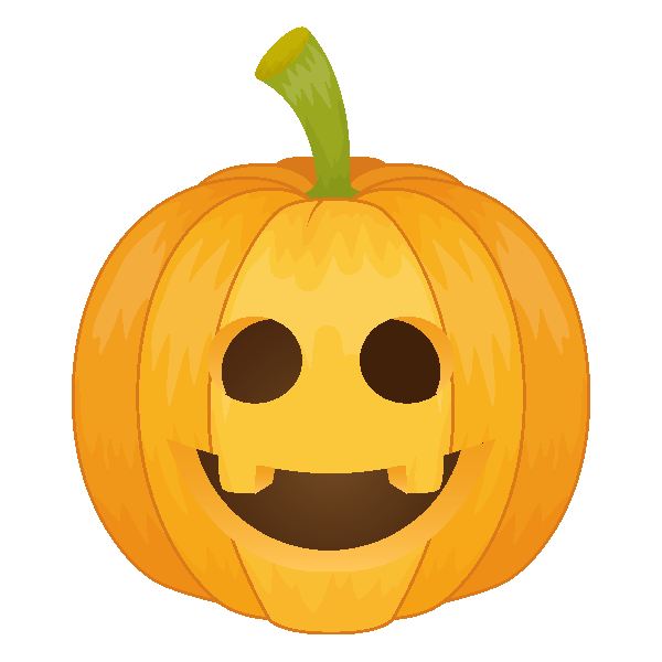 Pumpkin Emoji Keyboard messages sticker-8