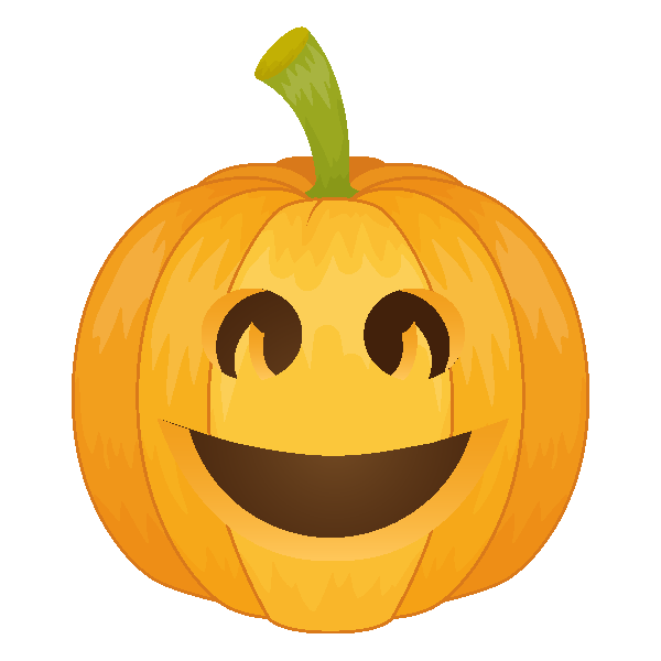 Pumpkin Emoji Keyboard messages sticker-10