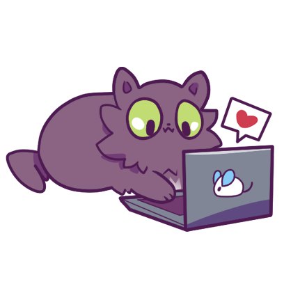 Echo the Cat Stickers messages sticker-7
