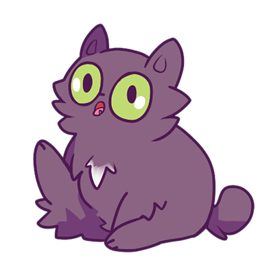 Echo the Cat Stickers messages sticker-2
