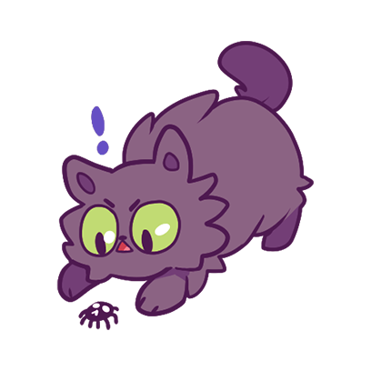 Echo the Cat Stickers messages sticker-0