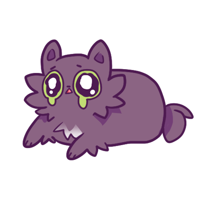 Echo the Cat Stickers messages sticker-11