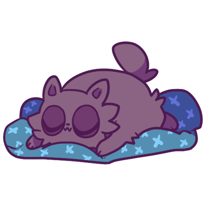 Echo the Cat Stickers messages sticker-10