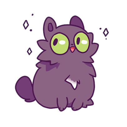 Echo the Cat Stickers messages sticker-1