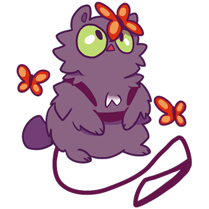 Echo the Cat Stickers messages sticker-8