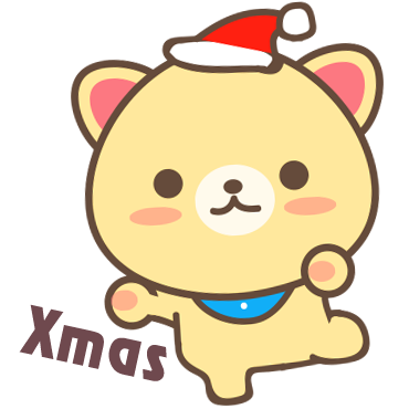 Peanut Dog Collage - Christmas and New Year Emoji messages sticker-2