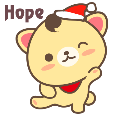 Peanut Dog Collage - Christmas and New Year Emoji messages sticker-5
