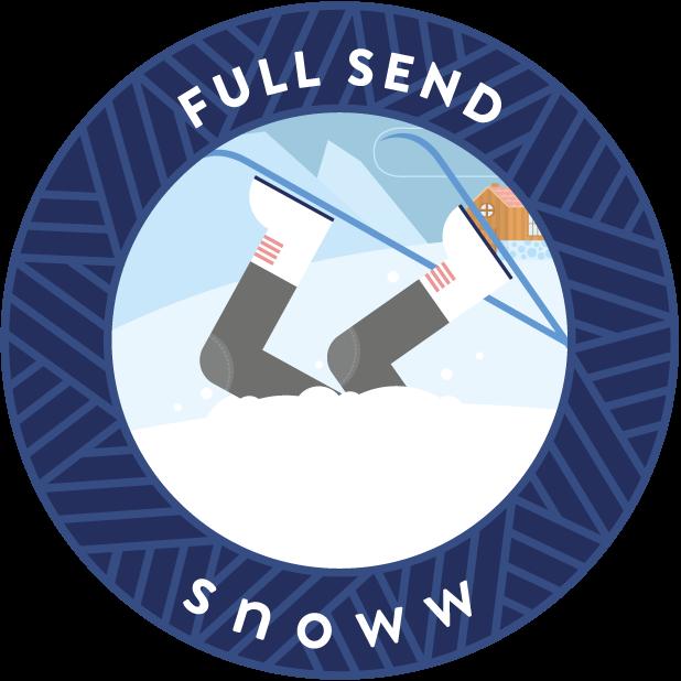 snoww: social ski & snowboard tracker messages sticker-5