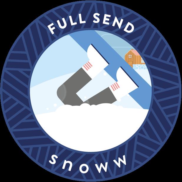 snoww: social ski & snowboard tracker messages sticker-4