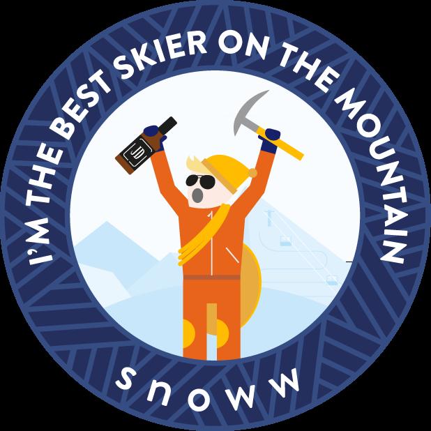 snoww: ski & snowboard tracker messages sticker-1