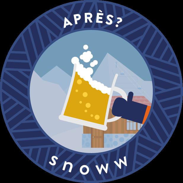 snoww: ski & snowboard tracker messages sticker-0