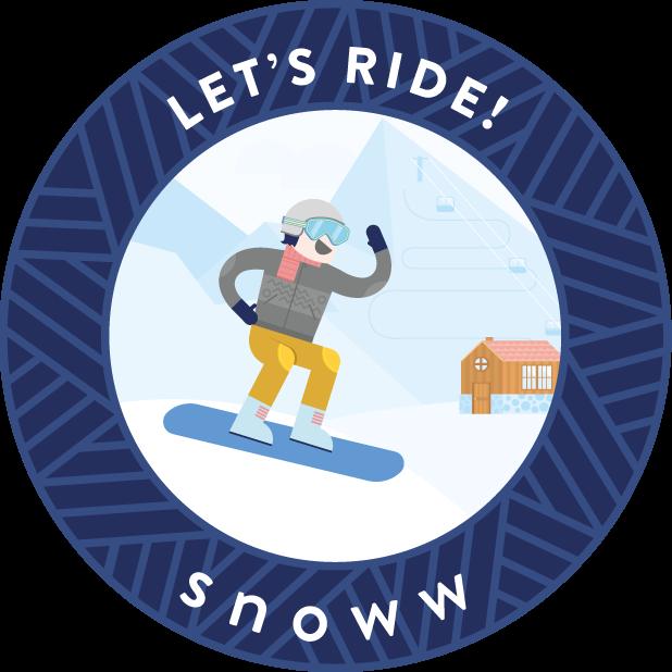 snoww: ski & snowboard tracker messages sticker-6