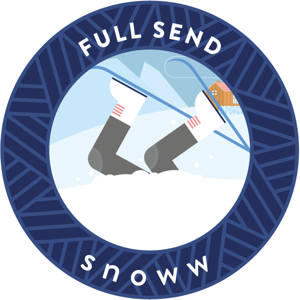 snoww: ski & snowboard tracker messages sticker-5