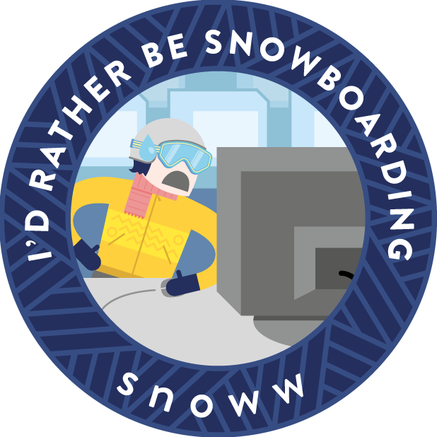 snoww: ski & snowboard tracker messages sticker-8